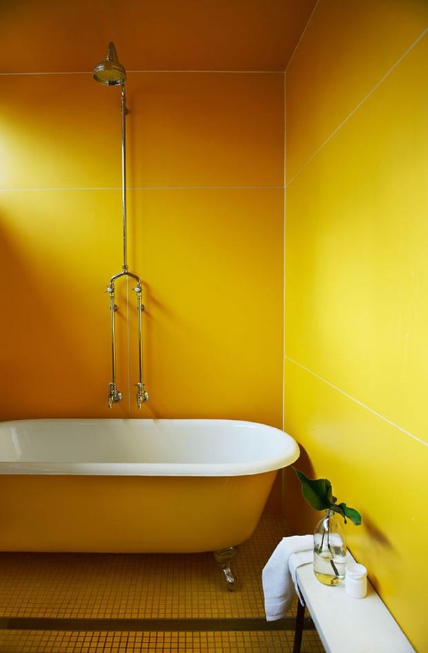 Accesorios Baño Amarillo:Baños en amarillo 3