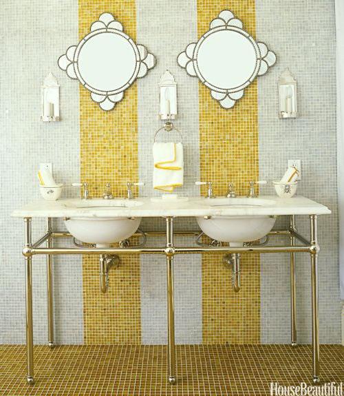Accesorios Baño Amarillo:Baños en amarillo 4
