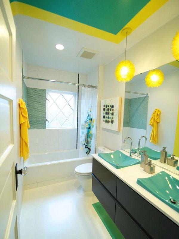 Accesorios Baño Amarillo:Baños en amarillo 5