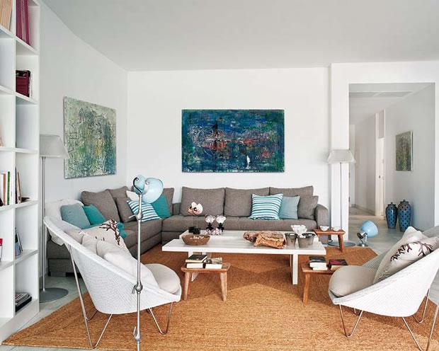 Una casa de playa para descansar con estilo - Decoracion apartamentos playa ...