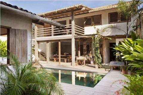 Villa tropical brasilera 3