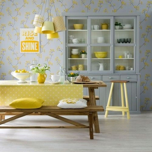 Yellow And Gray Kitchen Ideas: Llena De Vida La Cocina Con El Color Amarillo