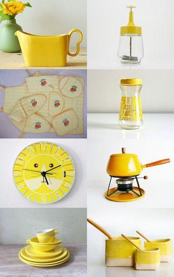 Llena de vida la cocina con el color amarillo - Objetos decoracion cocina ...