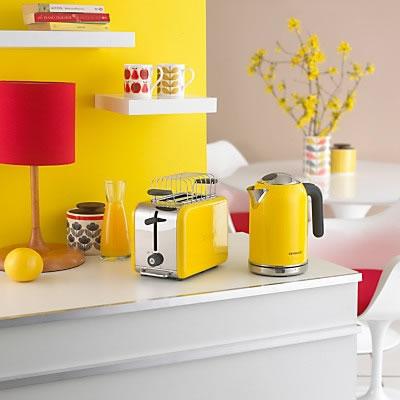 electrodomésticos color. | Color en la cocina | Pinterest