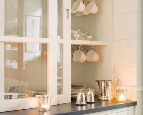 Cocina y comedor dos espacios en uno - Como decorar una vitrina ...