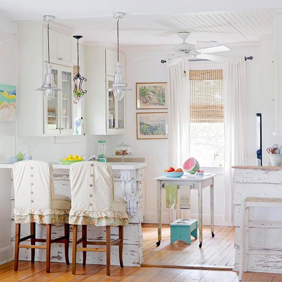 acogedoras cocinas de estilo cottage. Black Bedroom Furniture Sets. Home Design Ideas