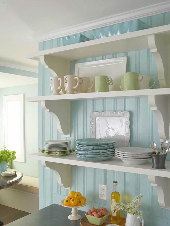 Acogedoras cocinas de estilo cottage - Muebles de cocina estilo retro ...