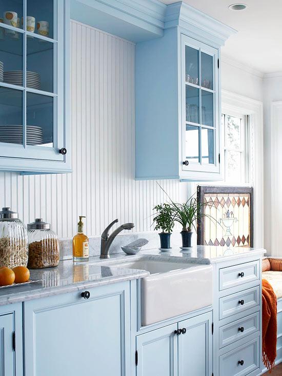 acogedoras cocinas de estilo cottage
