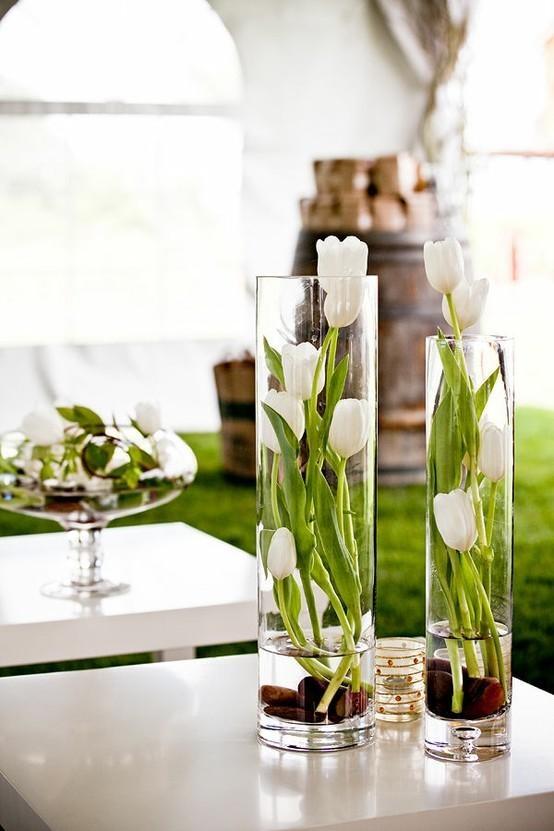 Decorar con tulipanes 1