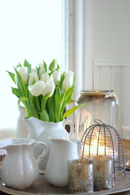 Decorar con tulipanes 13