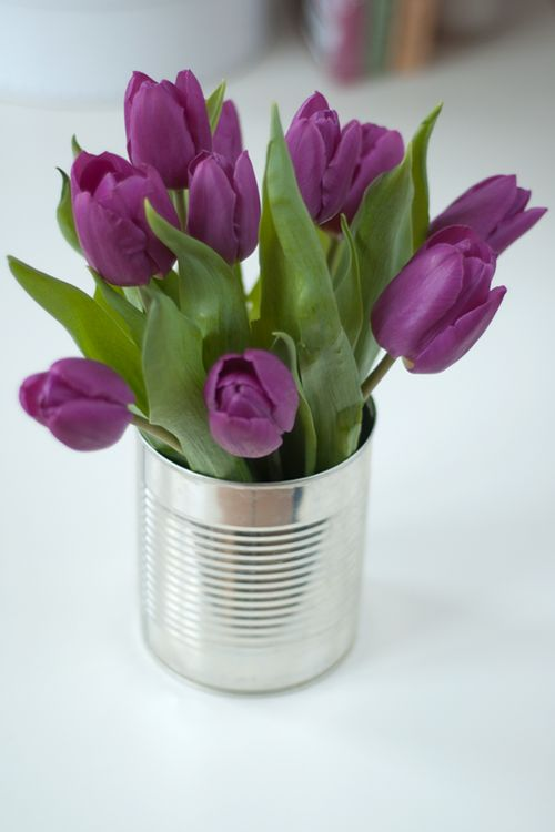 Decorar con tulipanes 15
