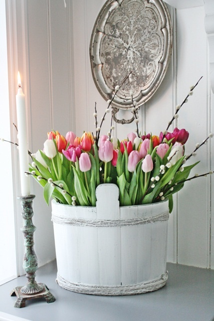 Decorar con tulipanes 3
