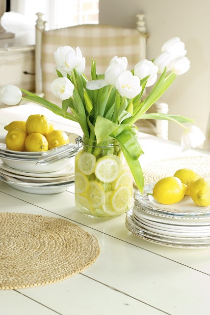 Decorar con tulipanes 4
