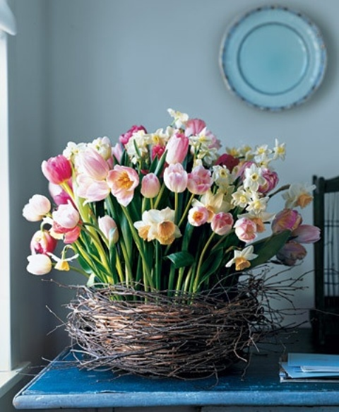 Decorar con tulipanes 8