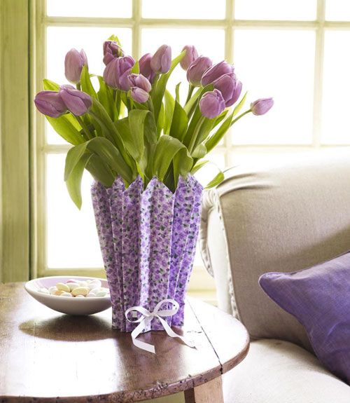 Decorar con tulipanes 9