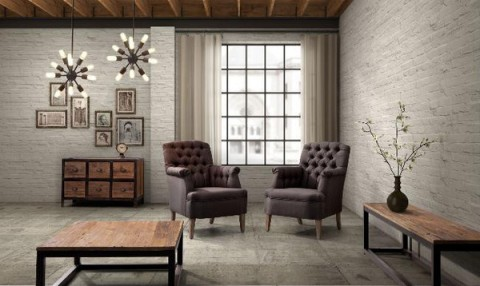 industrial style living room furniture decorar con accesorios y objetos industriales 21736