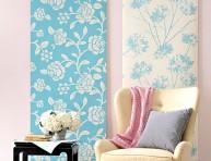 imagen 18 ideas para decorar con papel para empapelar