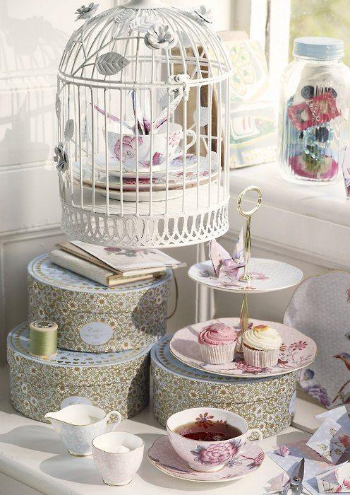 Aprovecha las jaulas para aves como accesorio decorativo - Jaulas decorativas zara home ...