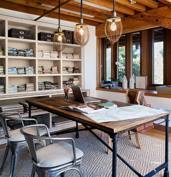 Home Office And Studio Designs: Espacios De Trabajo Con Influencia Nórdica