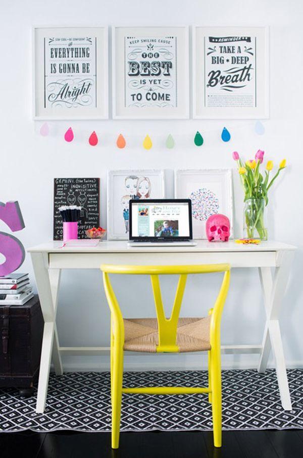Espacios de trabajo con influencia n rdica for Cuadros para decorar mi oficina