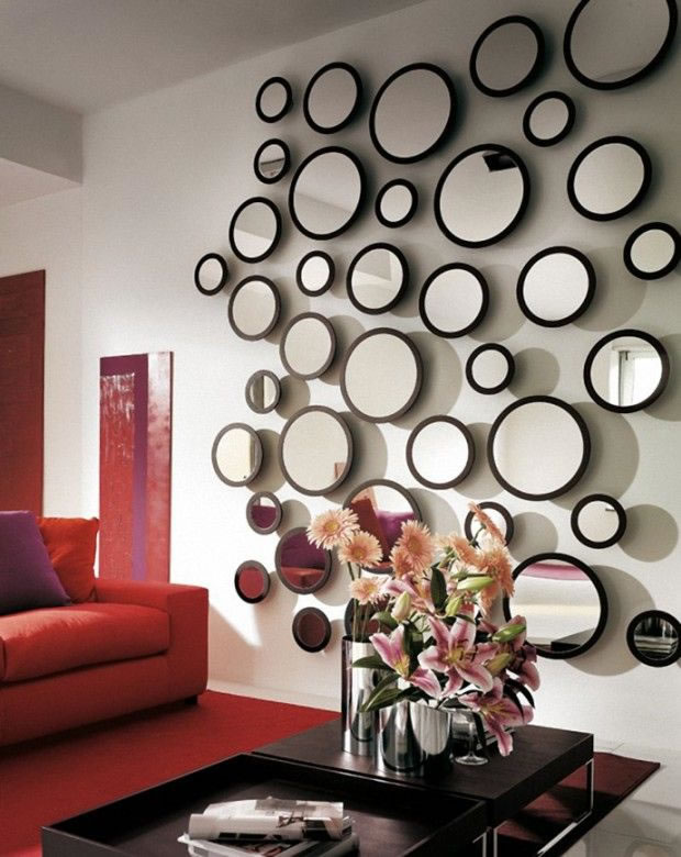 Aade espejos a la decoracin