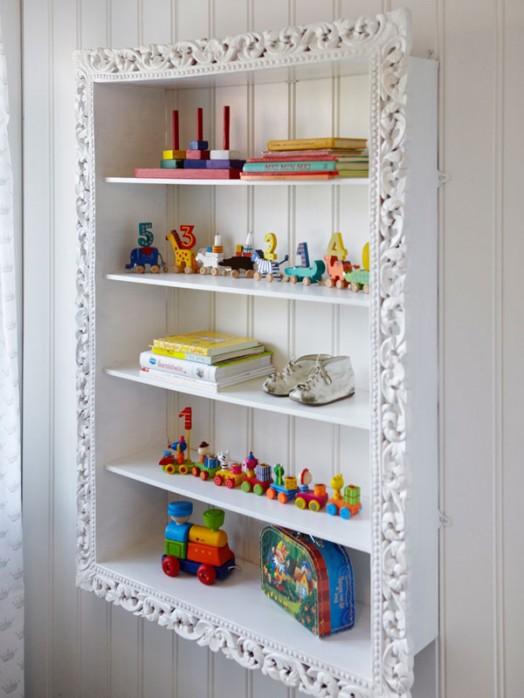 20 estanter as para organizar los juguetes de los peques - Estanterias para juguetes ...