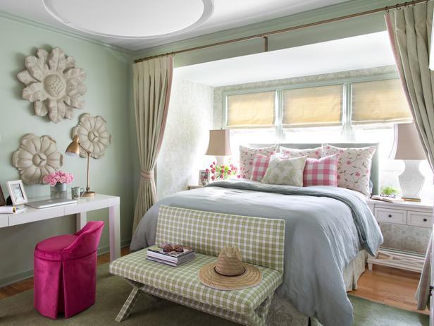 glamorous country chic bedroom decorating ideas | Detalles de una habitación en estilo cottage