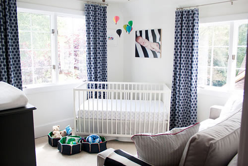 Una encantadora habitaci n para beb - Iluminacion habitacion bebe ...