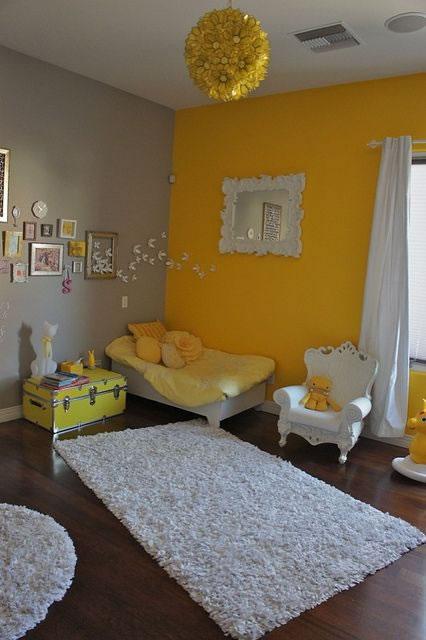 Pareti Gialle E Arancio : Detalles en amarillo para la habitación