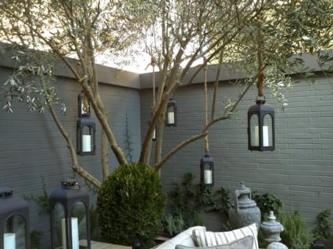 Iluminaci 243 N Moderna Para Terrazas
