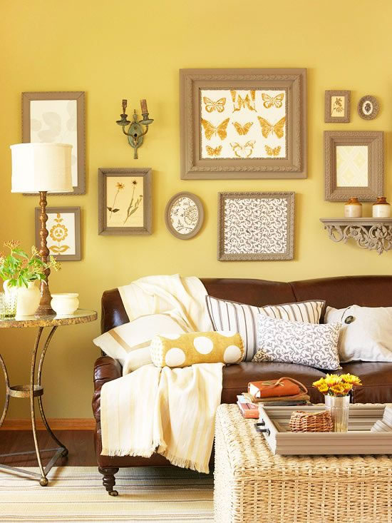 Decora con amarillo tu living y comedor for Significado d living room