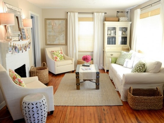 14 ideas de livings peque os con estilo - Small space living room designs philippines ...