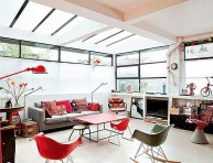 imagen Un loft de estilo retro en París