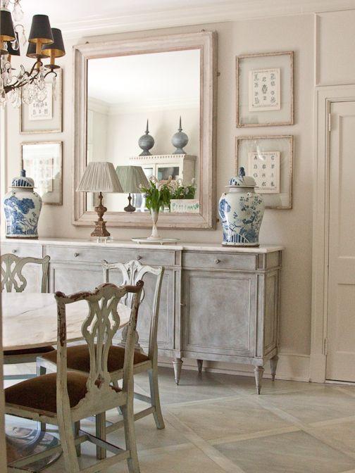 Muebles para una decoraci n de estilo vintage y shabby chic - Muebles shabby chic ...