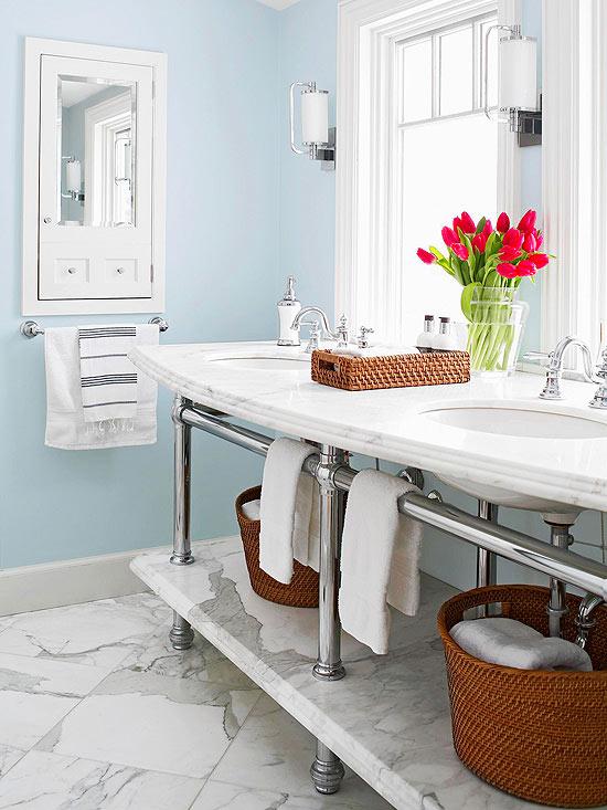 Propuestas de organización y almacenamiento para el baño