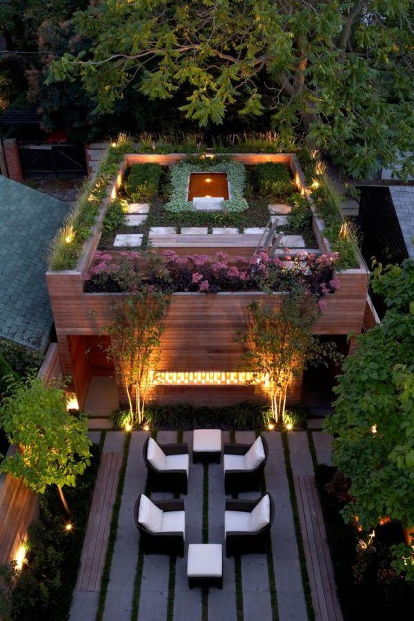 los beneficios de tener un techo verde