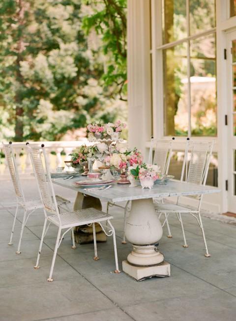 C mo crear terrazas con estilo 39 shabby chic 39 for Terrazas vintage