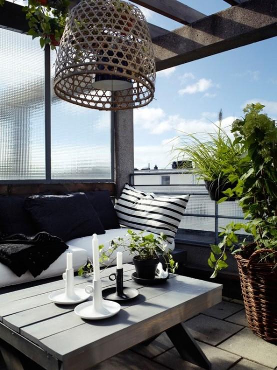 Terrazas y galer as de estilo escandinavo for Loggia arredamenti