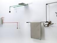 imagen Tendencias para el baño: toalleros minimalistas