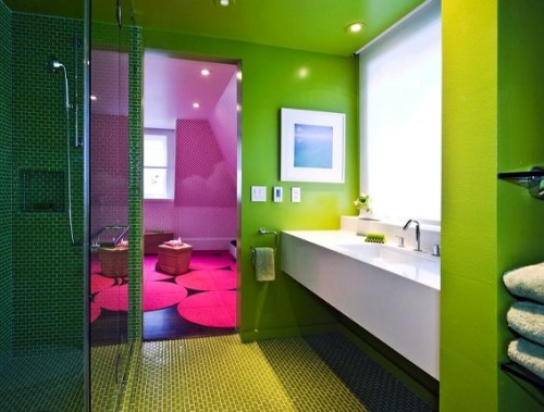 Baños coloridos 1