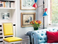 imagen Un colorido y ecléctico apartamento en Londres