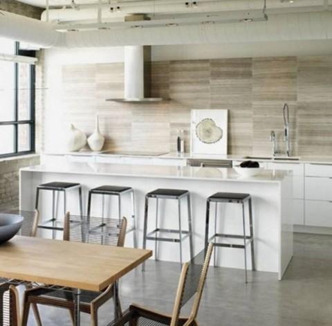 Detalles para hacer de la cocina un espacio industrial for Material cocina industrial