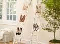 imagen Escaleras de mano, grandes organizadores de zapatos