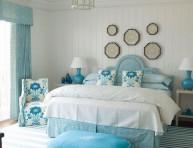 imagen Habitaciones románticas en color azul