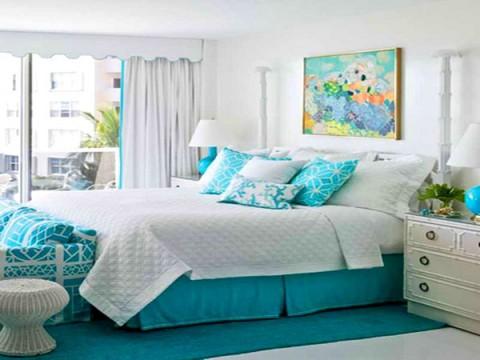 habitaciones rom nticas en color azul