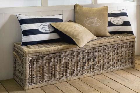 detalles para un recibidor de estilo marinero. Black Bedroom Furniture Sets. Home Design Ideas