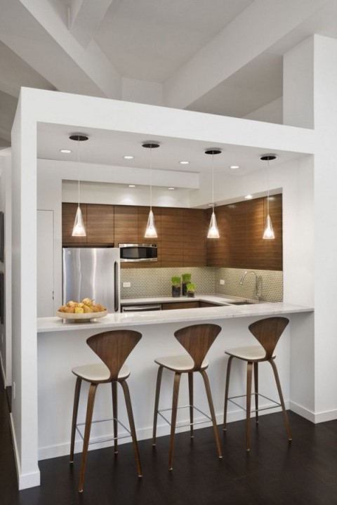 C mo integrar peque os comedores dentro de la cocina for Comedores pequenos