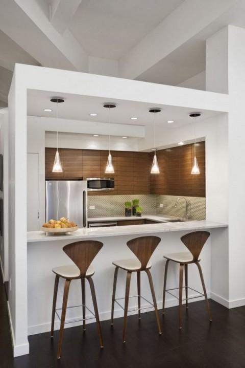 C mo integrar peque os comedores dentro de la cocina for Comedores sencillos y pequenos
