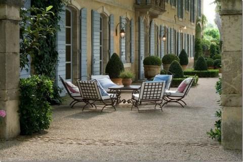 Terrazas de estilo provenzal - Casas en la provenza ...