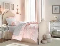imagen Habitaciones para chicas en rosa y blanco